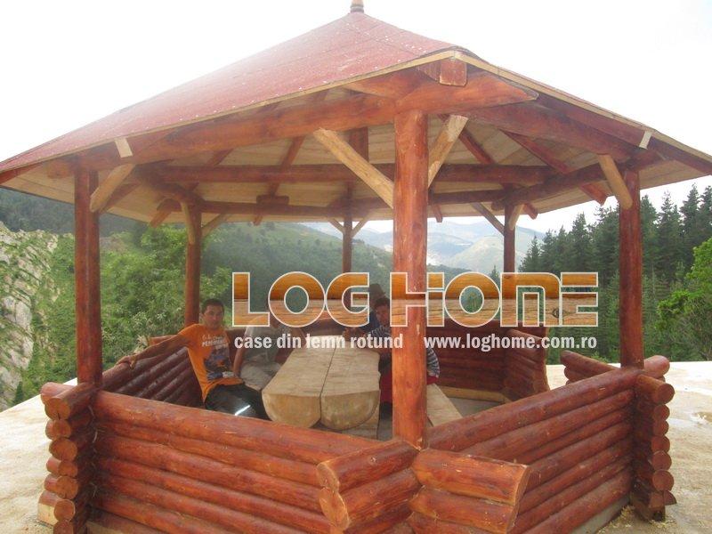 Construcţii Foisoare Din Lemn Rotund Log Home Vatra Dornei Suceava