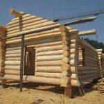 casa din lemn rotund vatra dornei