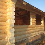 cabana lemn rotund bucuresti bragadiru