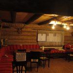 cabana din lemn rotund