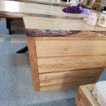 tablou lemn rotund