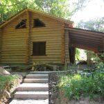 casa din busteni Borsa, Maramures